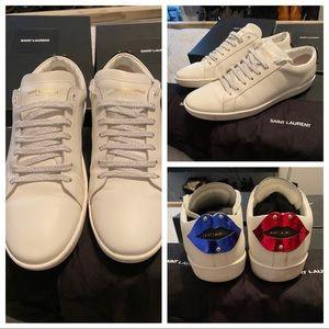 Saint Laurent Lip Sneaker